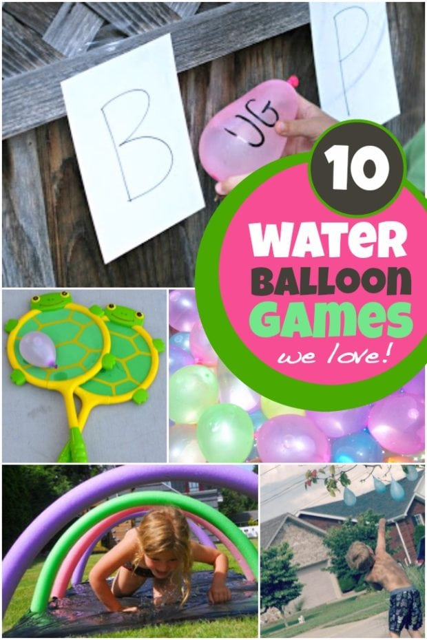 Kid S Party Ideas Water Balloon Games Spaceships And