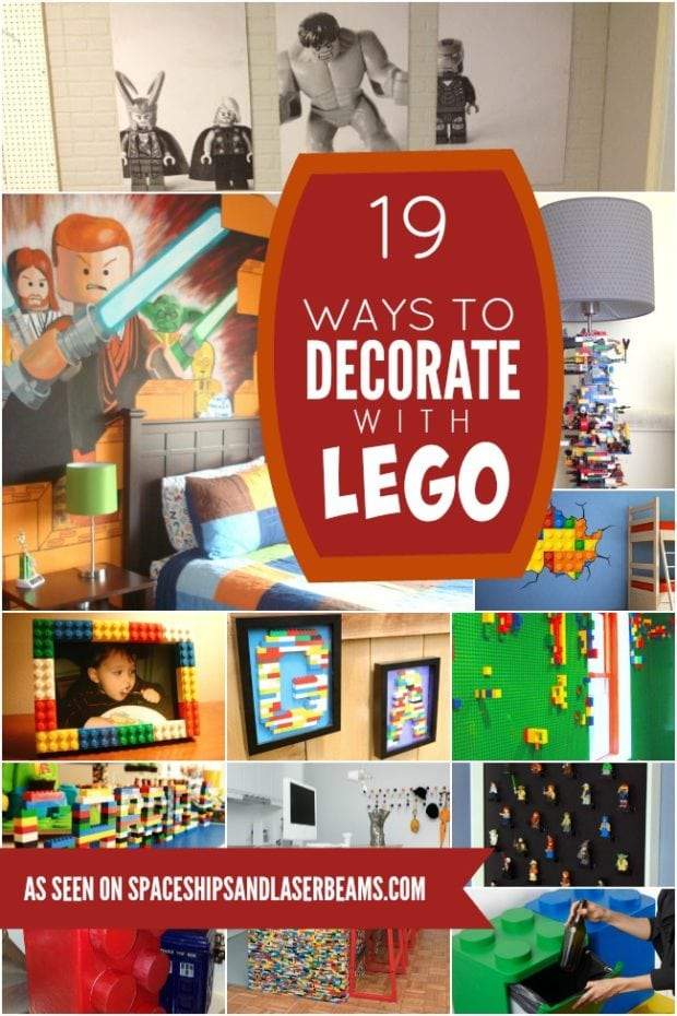 19 Lego Decorations and Room Decor Ideas Your Kids Will ...