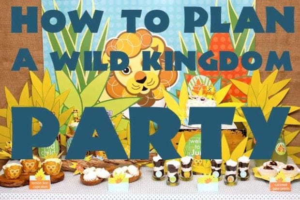 How To Plan A Wild Kingdom Jungle Party Spaceships And