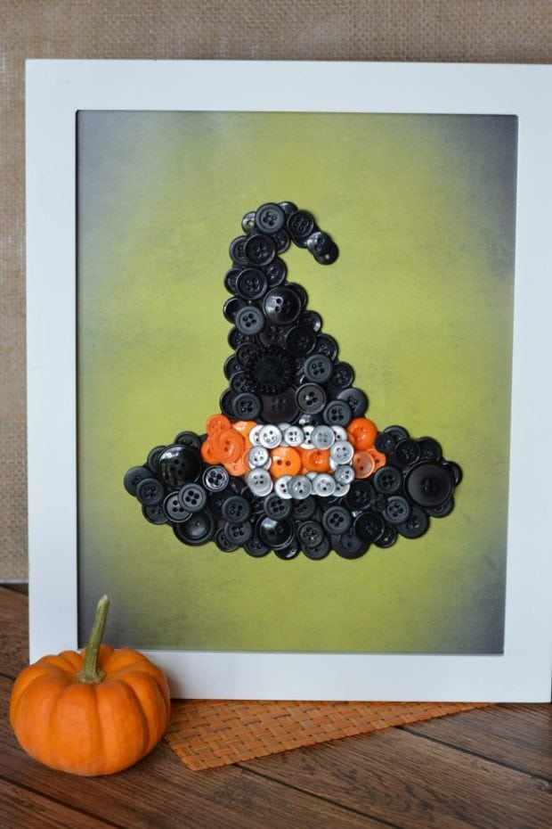 witch-hat-button-craft