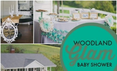 Woodland Glam Baby Shower Ideas For Boysjpg