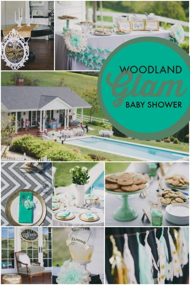 Woodland Glam Baby Shower Ideas For Boysjpg