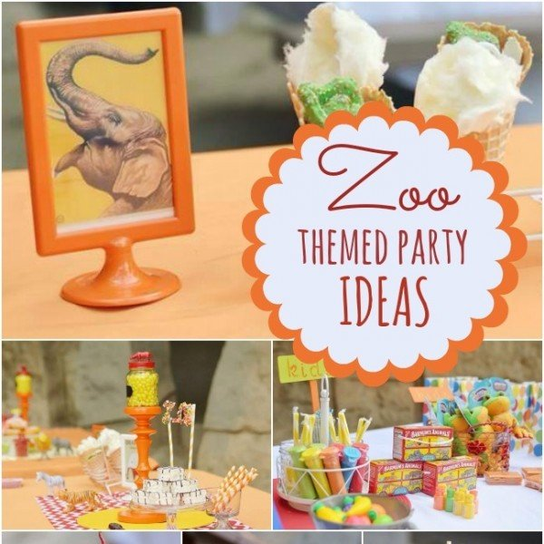 Terrific Zoo Themed Boy's Birthday Party  Spaceships and Laser ...