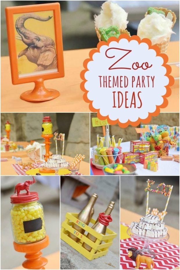 A Terrific Zoo Themed Boy S Birthday Party Spaceships