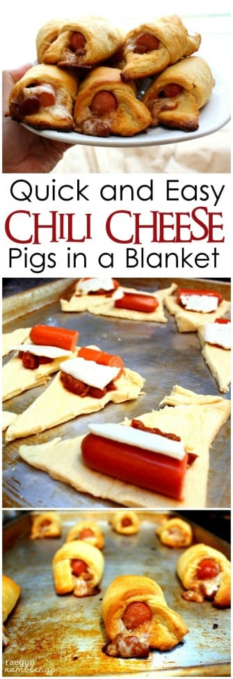 Chili Cheese Pigs in a Blanket Recipe