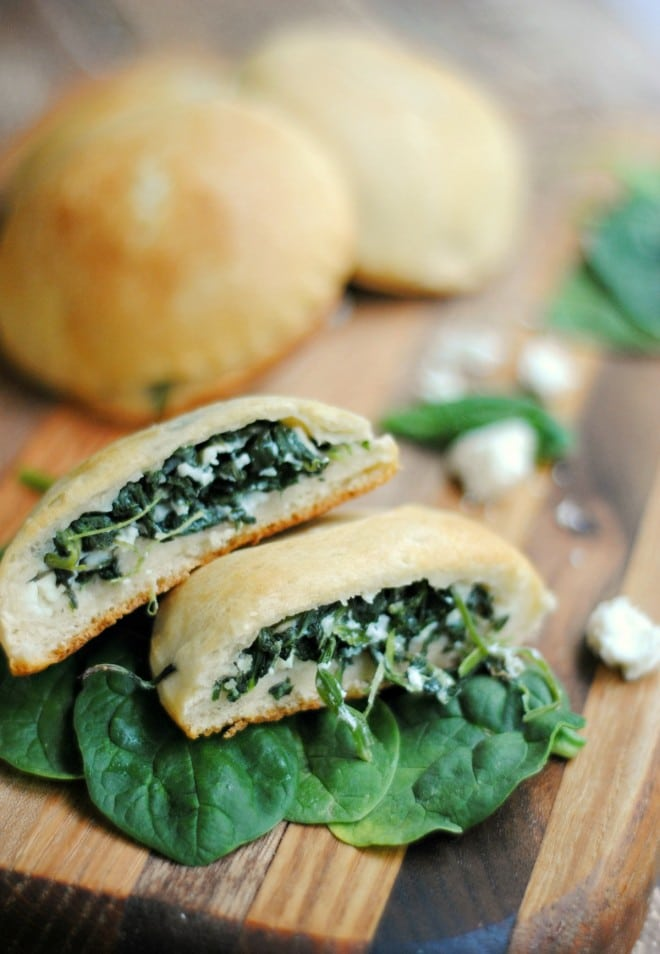 Spinach Feta Hand Pies