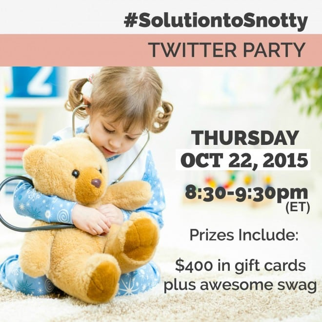 #SolutionToSnotty Twitter Party