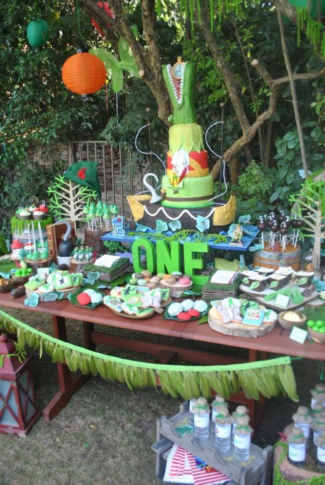 BOY'S PETER PAN BIRTHDAY PARTY IDEAS