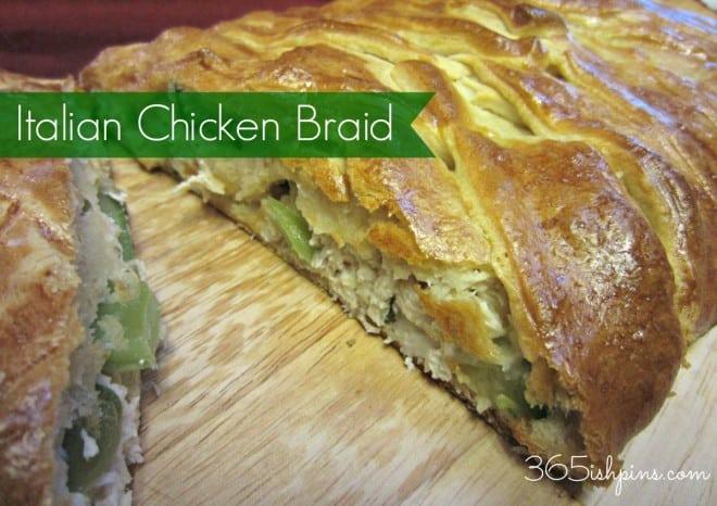 Crescent Roll Chicken Bread