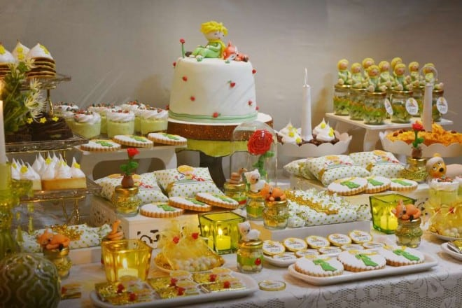 Boy's Little Prince Themed Birthday Party