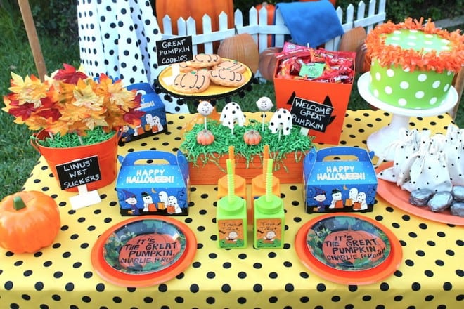 The Great Pumpkin Theme Party Ideas