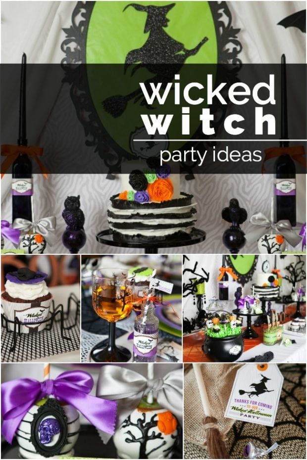 Wicked Witch Birthday Party Idea