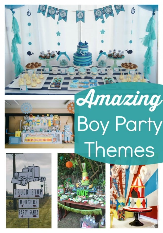Amazing Boy Party Themes