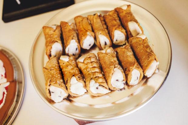 Boys Party Food Cannoli Ideas