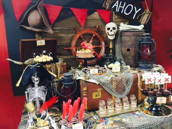 Boy's Pirate Birthday Party Ideas