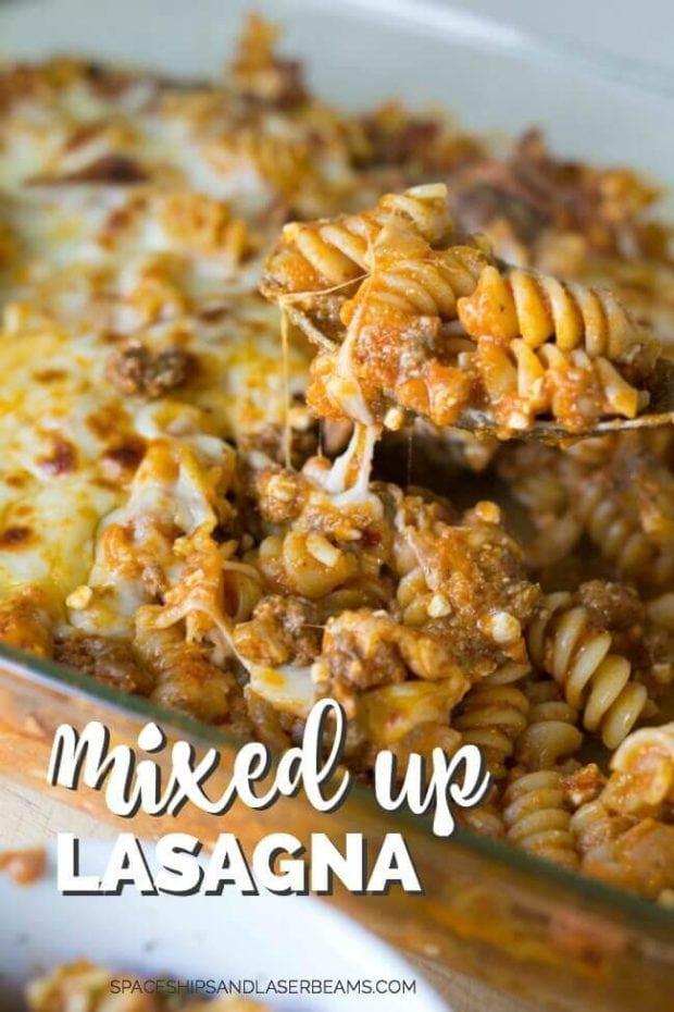 Easy Mixed Up Lasagna Recipe
