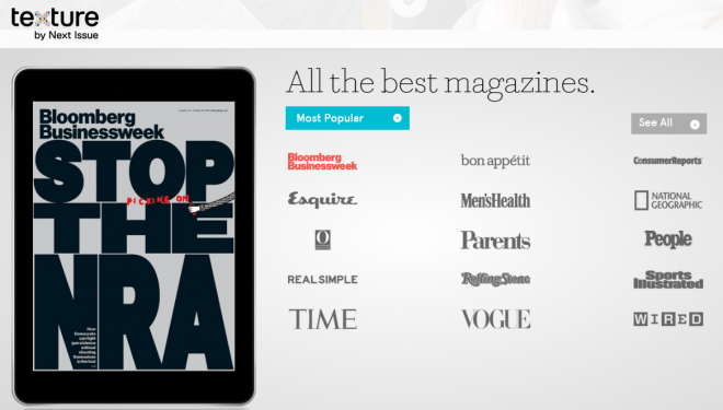 Most Popular Magazines on Texture