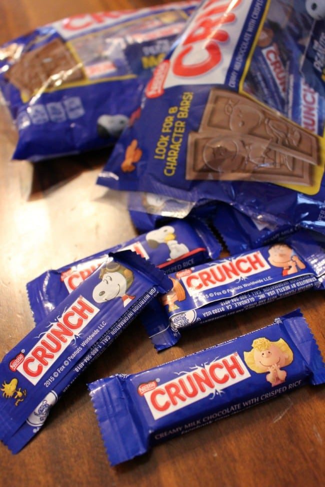 Nestle Crunch Candy for Halloween