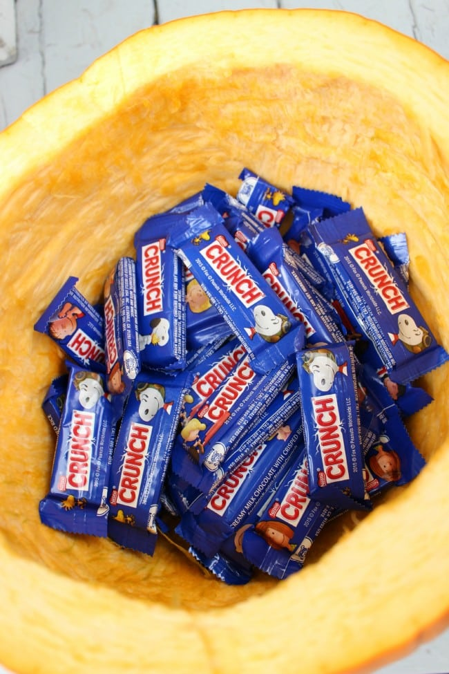 Nestle Crunch Mini Candy Bars for Halloween