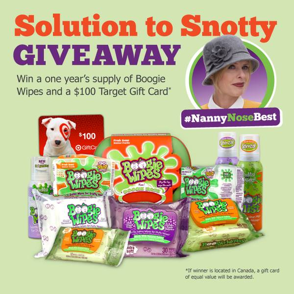 Solution to Snotty Giveaway