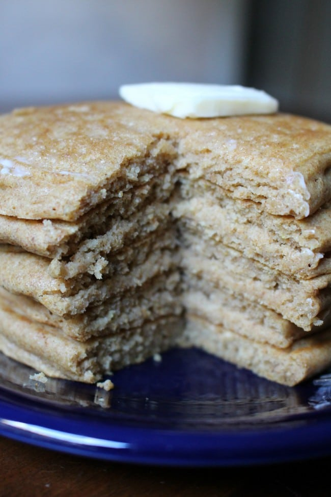 Whole Wheat Pancakes Recipe Idea