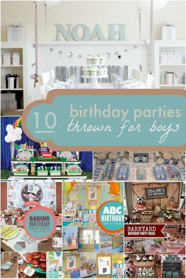 10 Birthday Parties Thrown for Boys