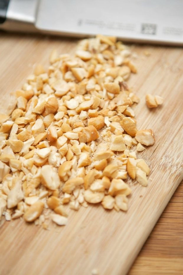 Chopped Cashews for Recipe