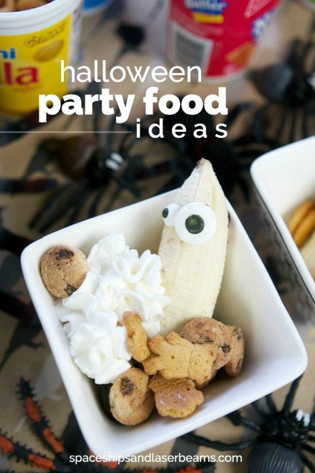 fun halloween kids party food ideas - Fun Halloween Party Snacks