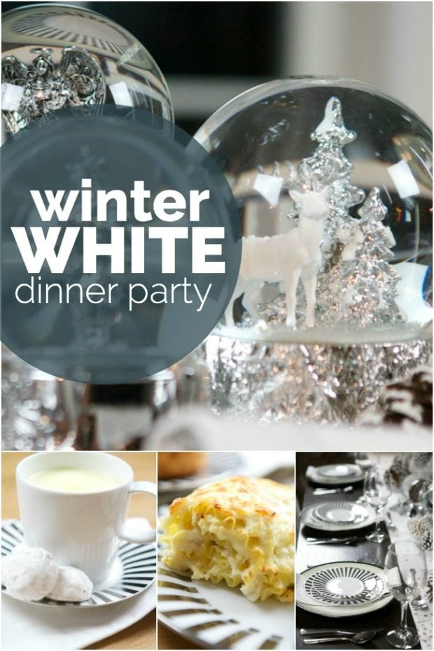 Winter White Dinner Party
