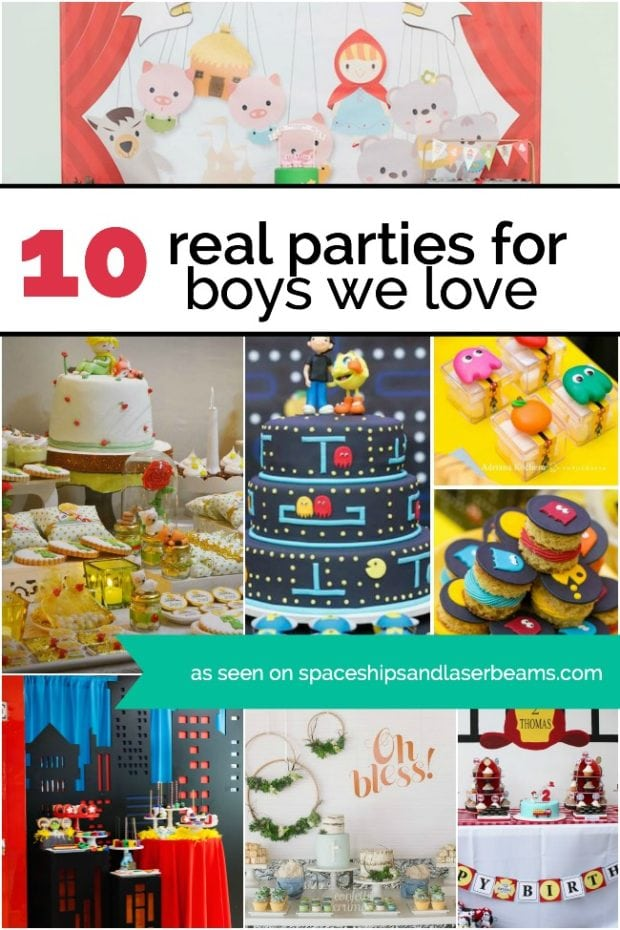 Cute Birthday Party Theme Ideas for Boys