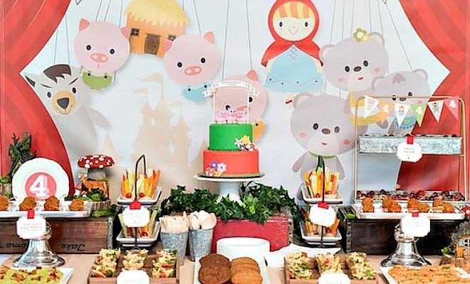 Fairytale Boy's Birthday Party