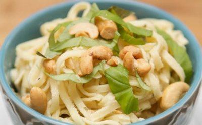 Easy One Pot Pasta Cashew Dinner