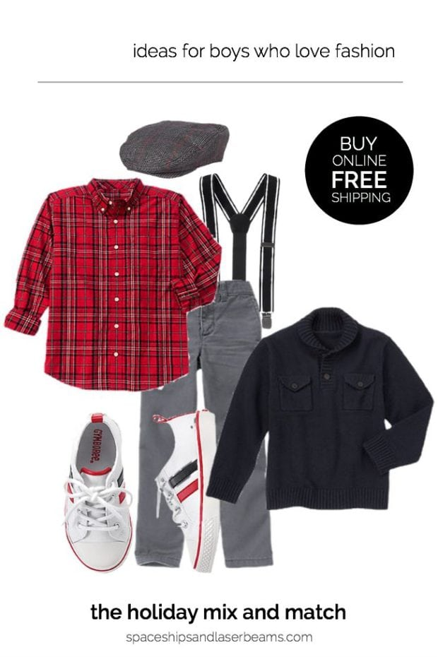 Holiday Outfits for Boys