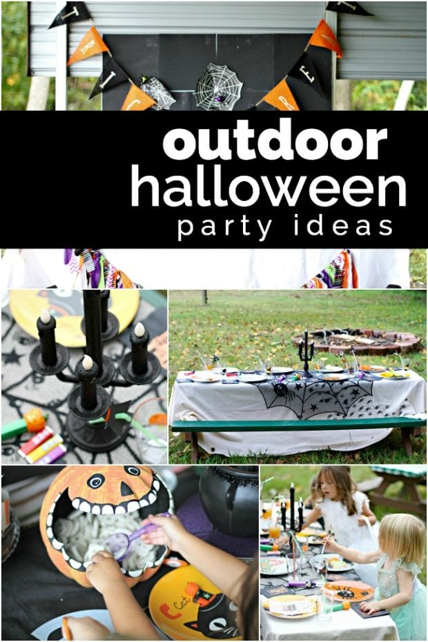 Outdoor Halloween Party Ideas