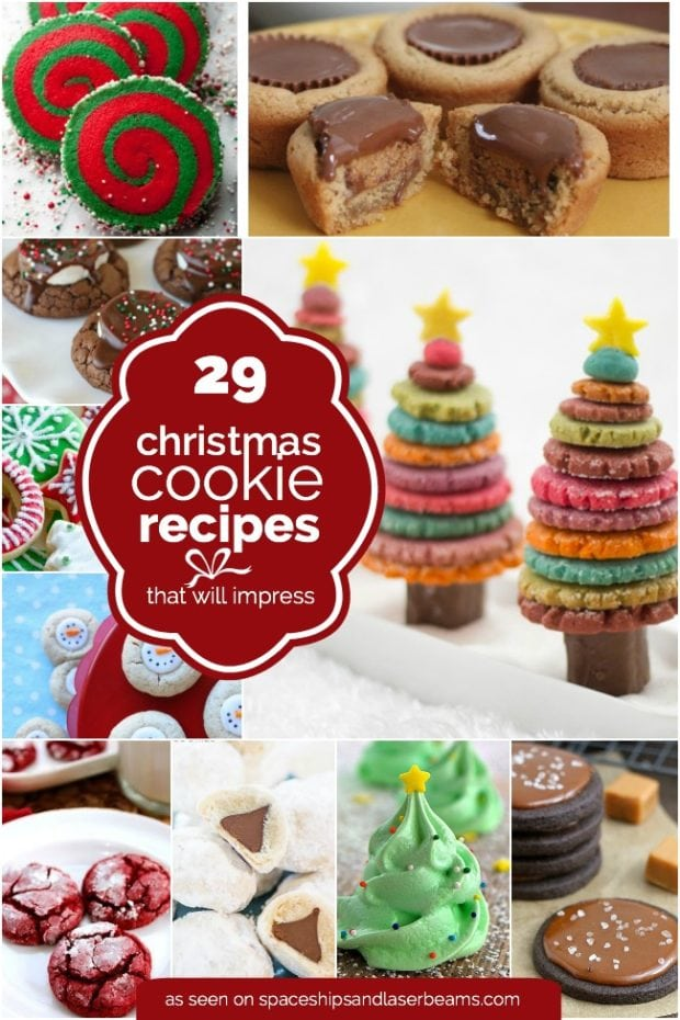 Easy Christmas Cookie Recipe Ideas & 29 Easy Christmas Cookie Recipe Ideas u0026 Decorations | Spaceships and ...