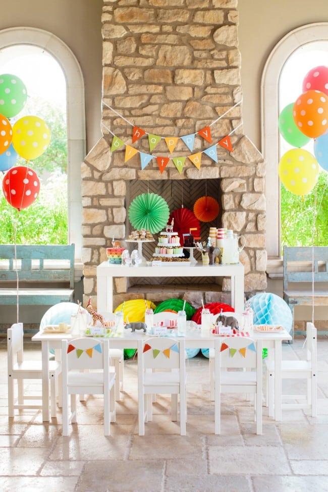 Circus Themed Boy Birthday Party Ideas