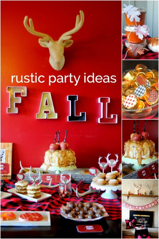 Rustic Fall Birthday Party Theme
