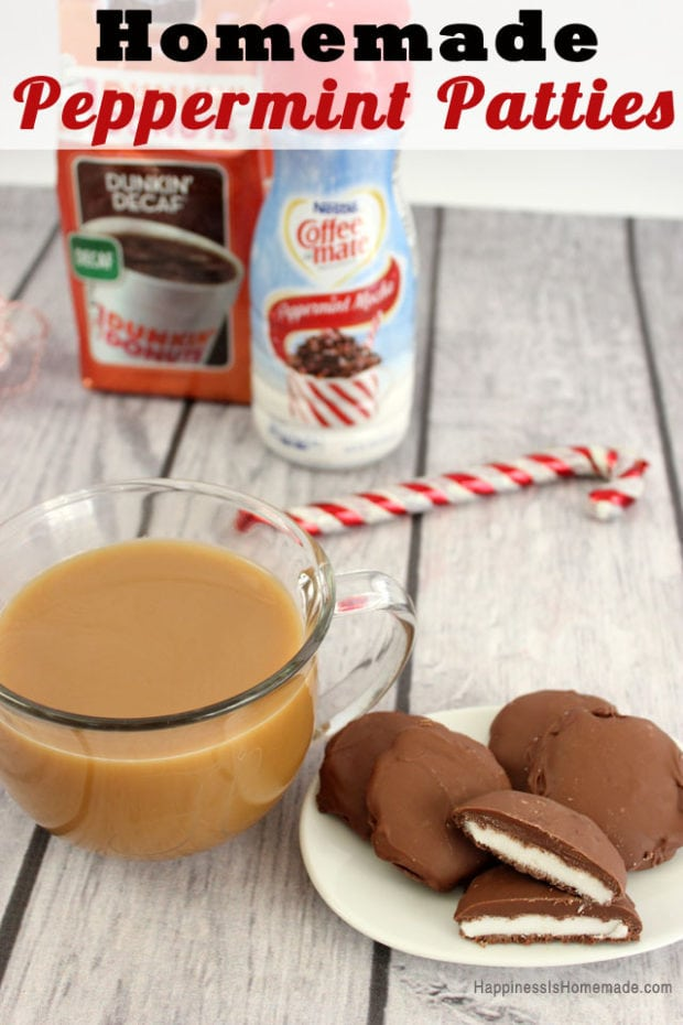 Delicious Homemade Peppermint Patties are a fantastic Christmas treat