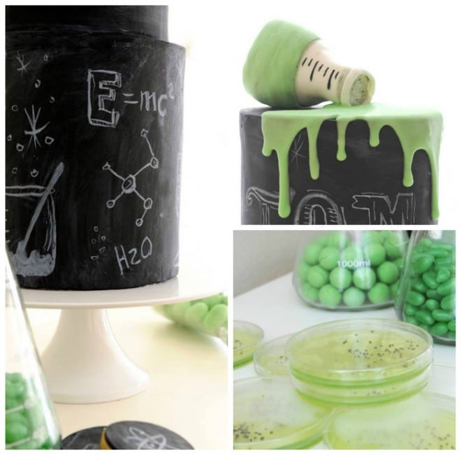 Mad Scientist Birthday Party Idea