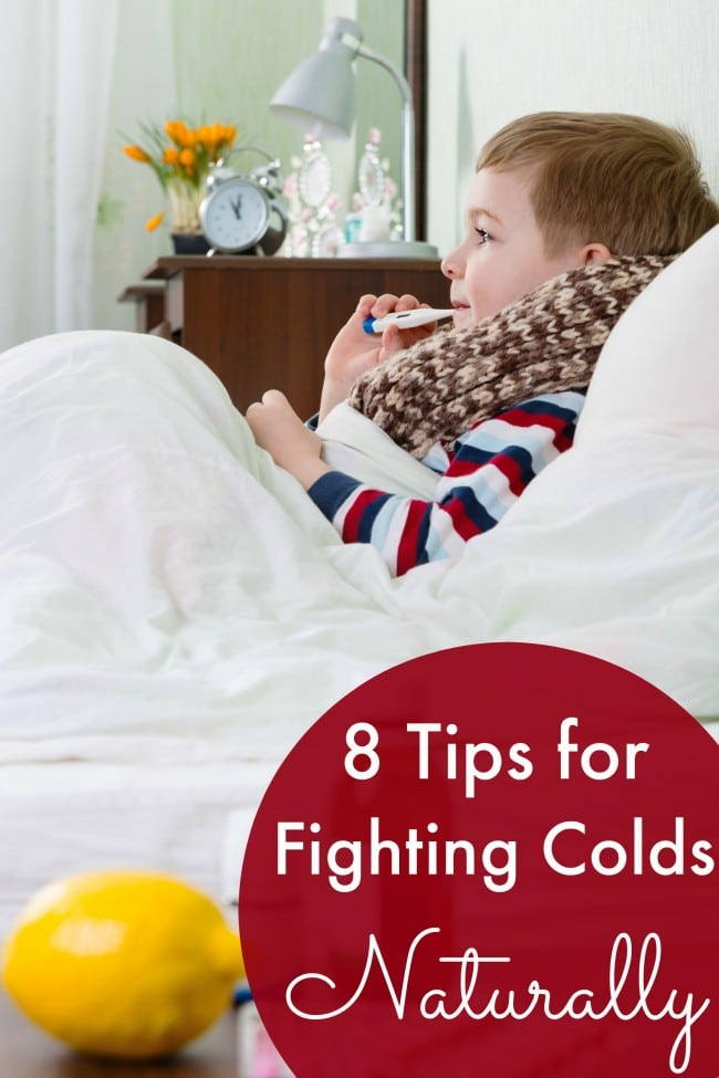 8 Tips for Fighting Colds Naturally
