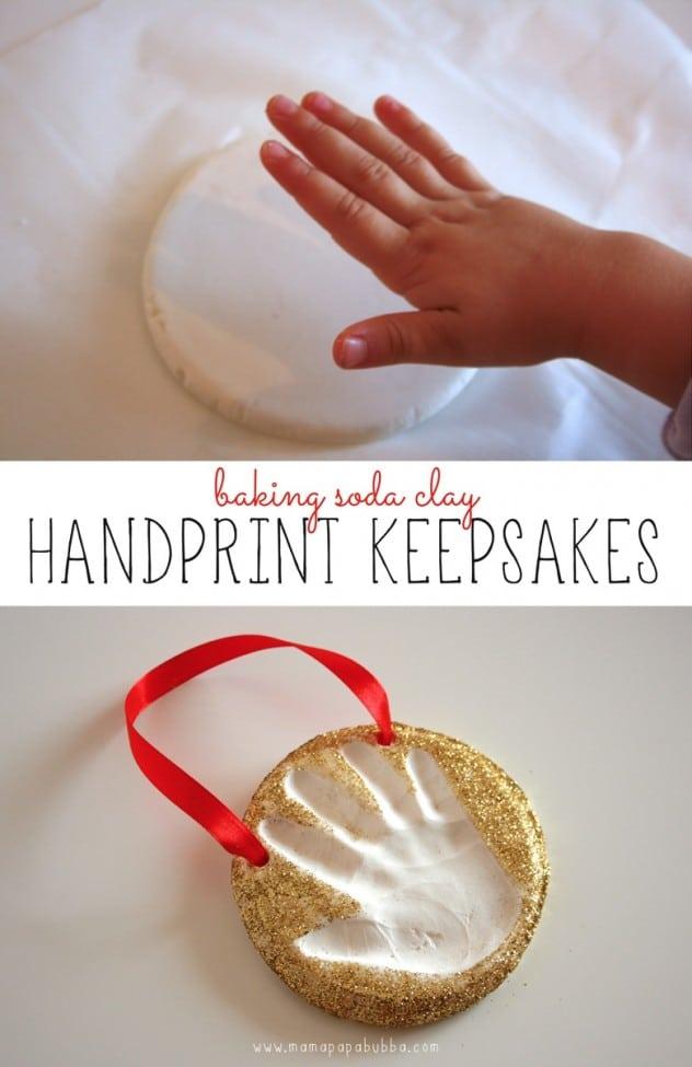 Handprint Keepsake Oranment