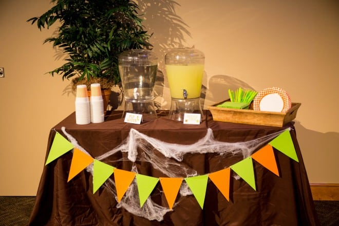 Bug Themed Party Drink Station