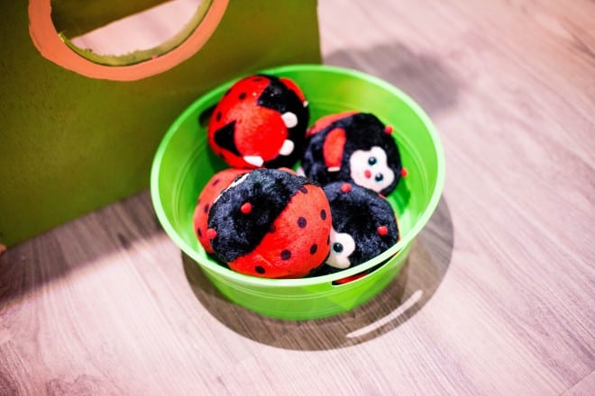 Bug Themed Lady Bug Toss Party Game