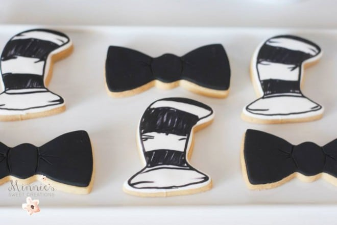 Boys Cat in the Hat Birthday Party Cookie ideas