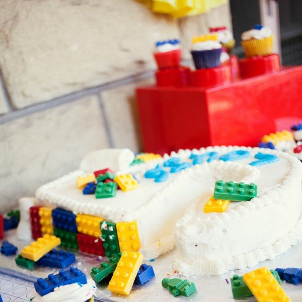 An Awesome Lego Birthday Party Spaceships And Laser Beams