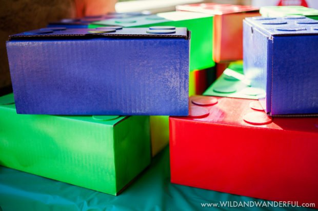 An Awesome LEGO Birthday Party | Spaceships and Laser Beams