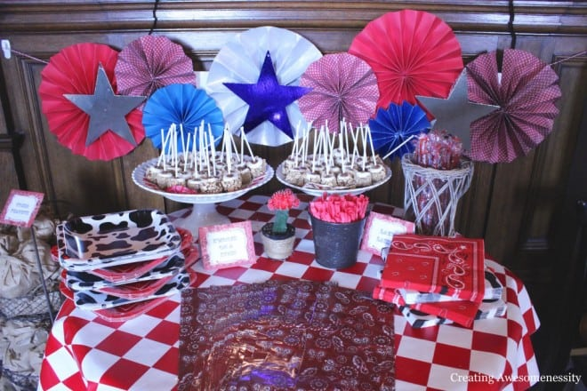 Cowboy Themed Western Birthday Party Snack Ideas