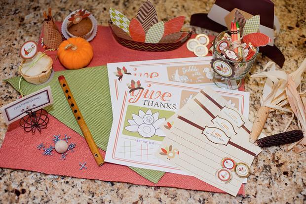 Fun Thanksgiving Day Printables