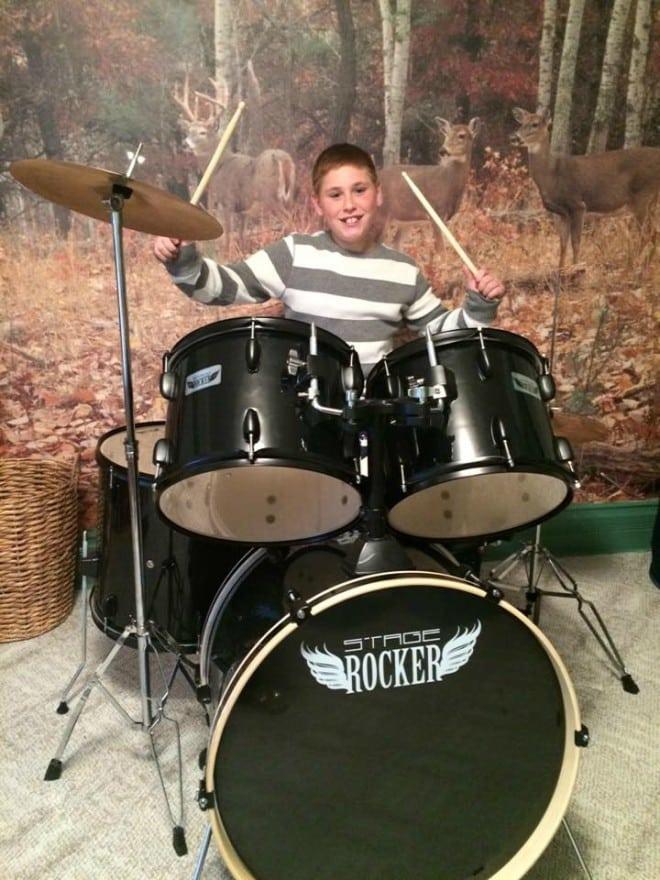 Jorryn on Drums