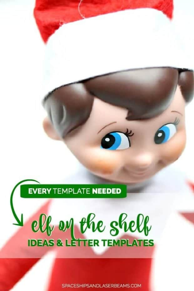 Elf on the Shelf Ideas, Templates and Letters